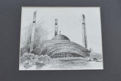 Алиев А. ''Мечеть г.Аргун''. Махачкала, 2015г.